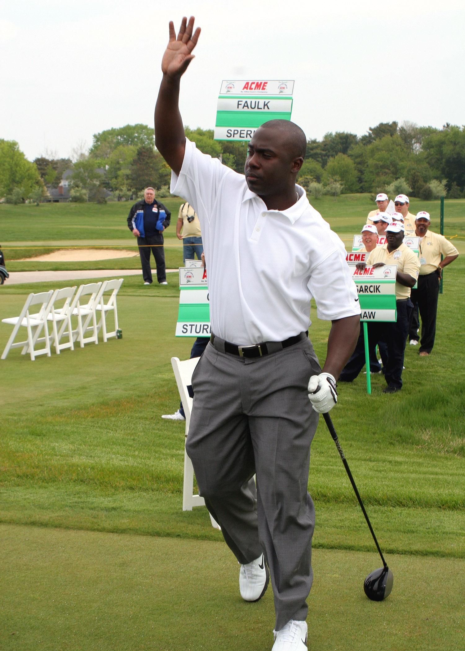 Marshall faulk celebrity golf tournament
